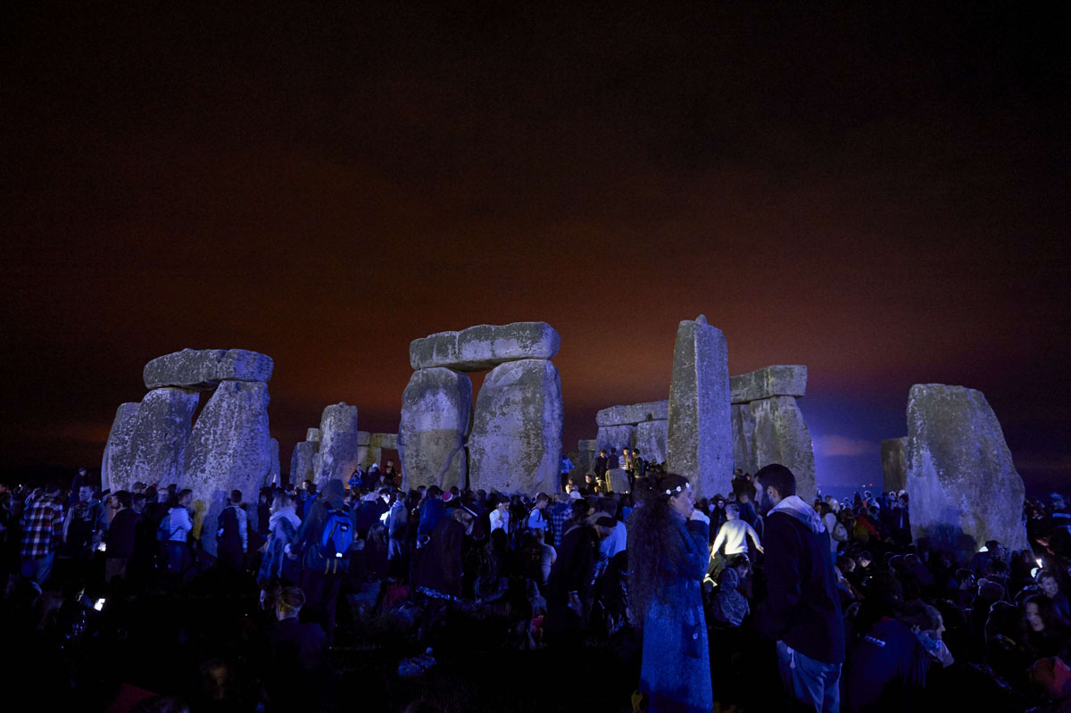 Celebrating Summer Solstice at Stonehenge