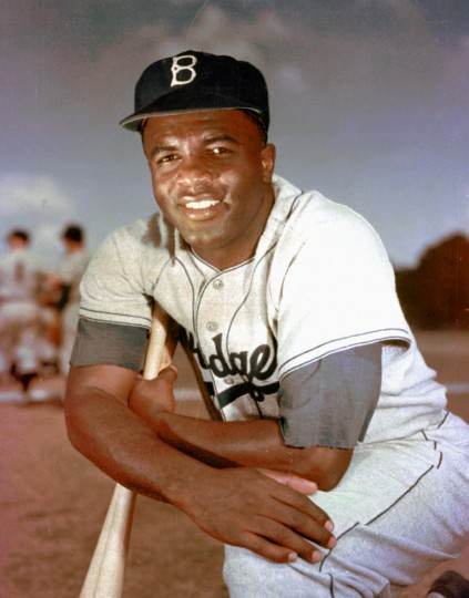 July 6, 1944: Jackie Robinson, seen here in this 1952 file photo, famously refused to move to the back of a bus at the insistence of the bus driver. Then an Army second lieutenant, Robinson was subjected to a court martial following the incident. (AP Photo/File)