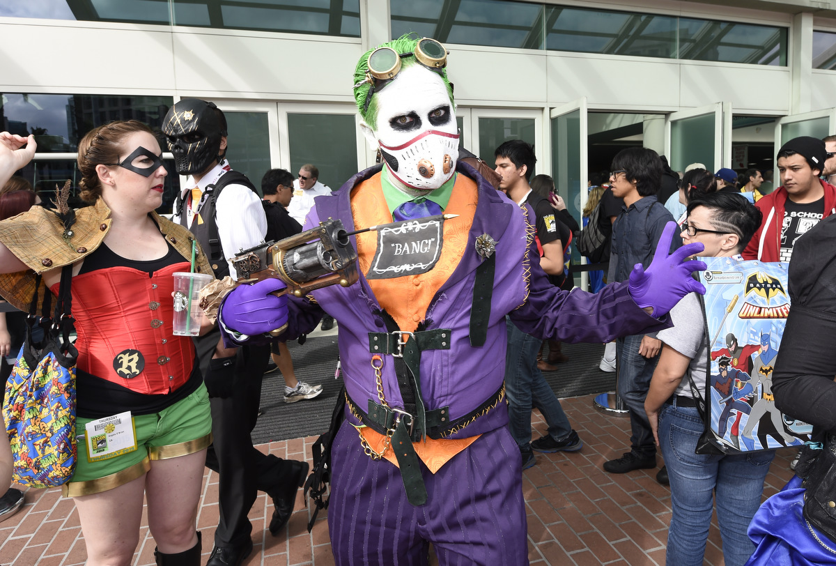 Comic Con 2015 opens in San Diego
