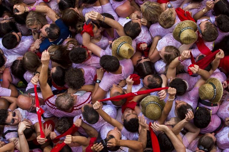 AP APTOPIX Spain San Fermin