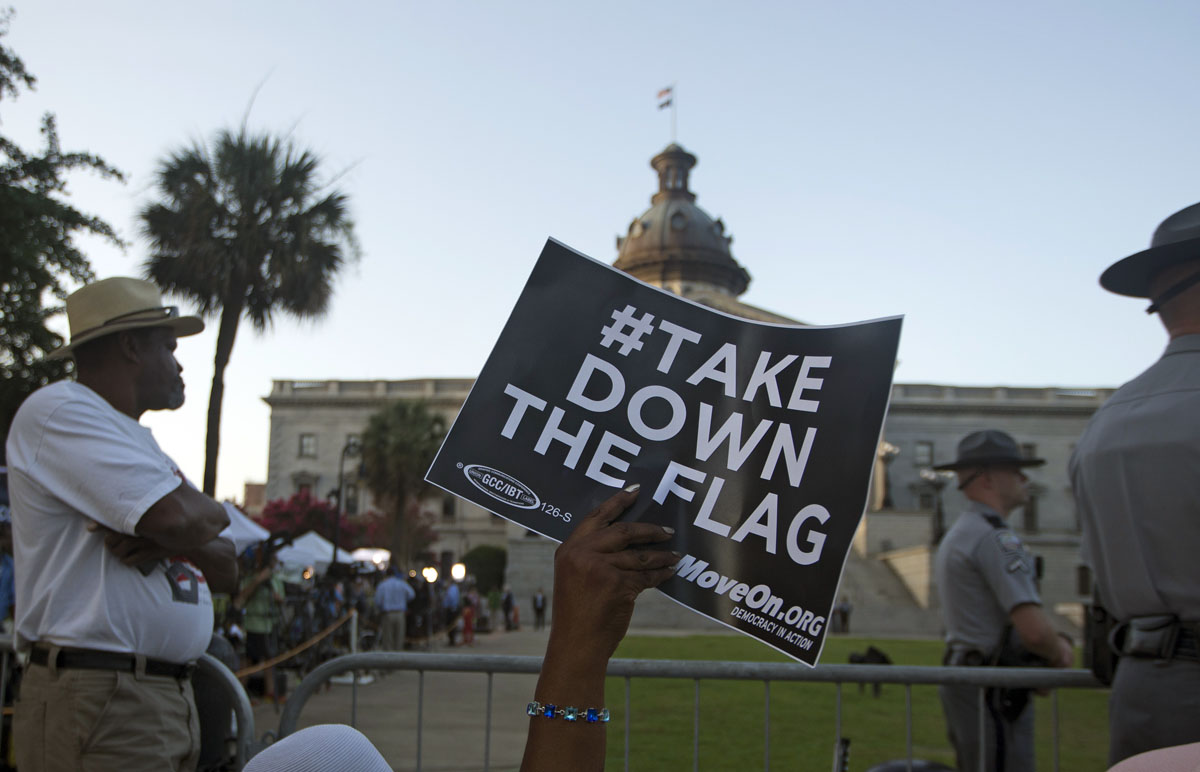 The Confederate Battle Flag To Be Removed From In Front Of The South