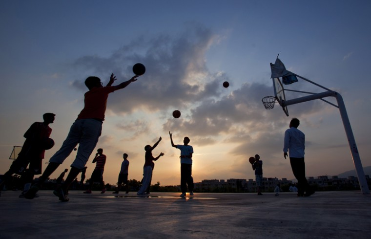 Pakistani youth practice in Islamabad, Pakistan, on Tuesday, July 28, 2015. (Anjum Naveed/AP)