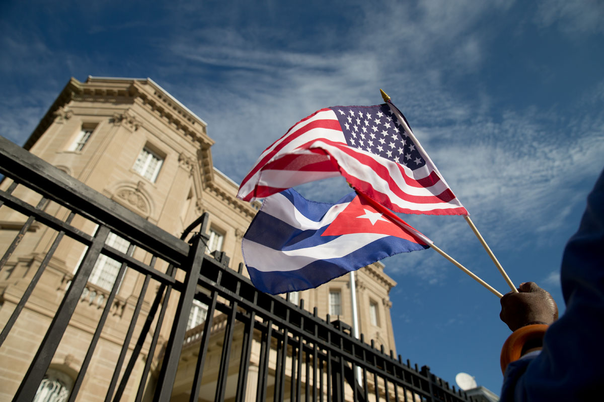 Cuban embassy opens in Washington, D.C.