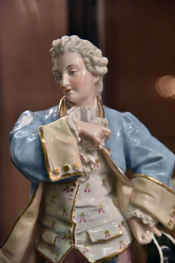 You can even find a Dresden porcelain figurine at Second Chance, Inc. (Kim Hairston/Baltimore Sun)