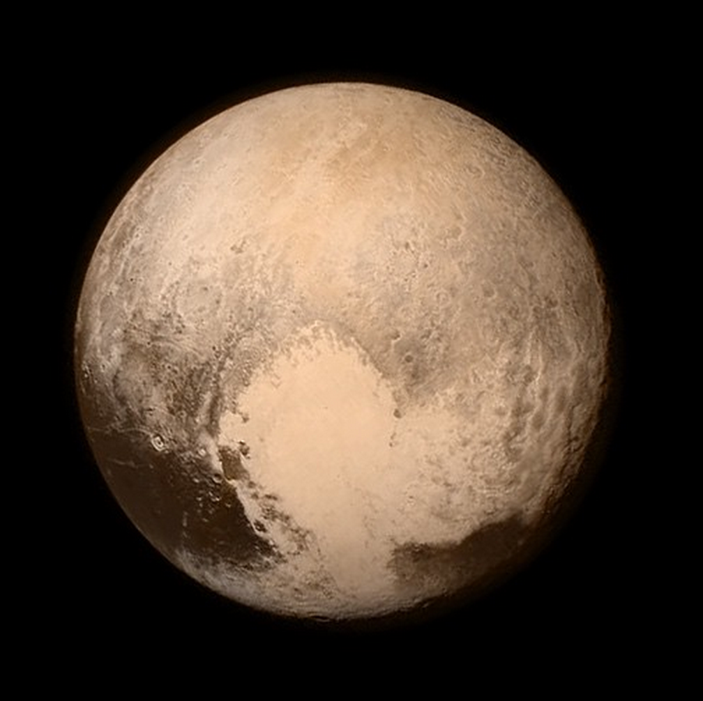 Pluto, up close: New Horizons historic fly-by