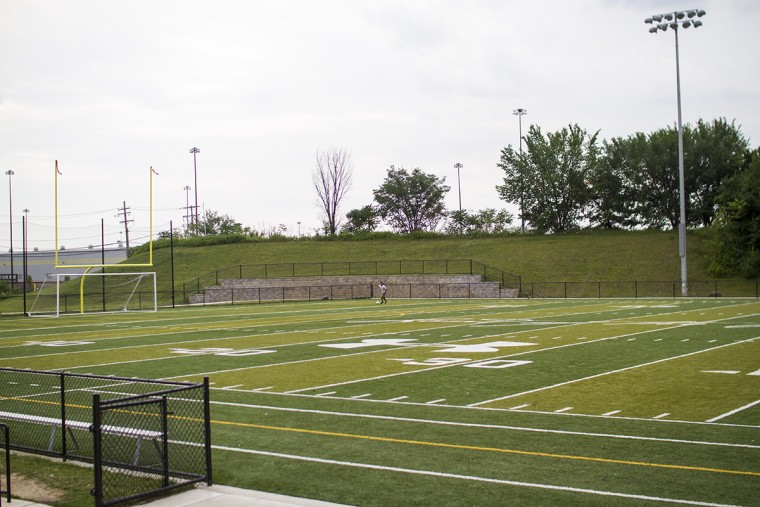 Banner Field at Latrobe Park in Locust Point. (Kalani Gordon, Baltimore Sun, June 2015)