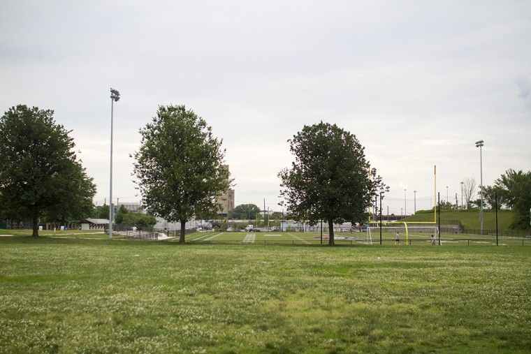 Latrobe Park in Locust Point. (Kalani Gordon, Baltimore Sun, June 2015)
