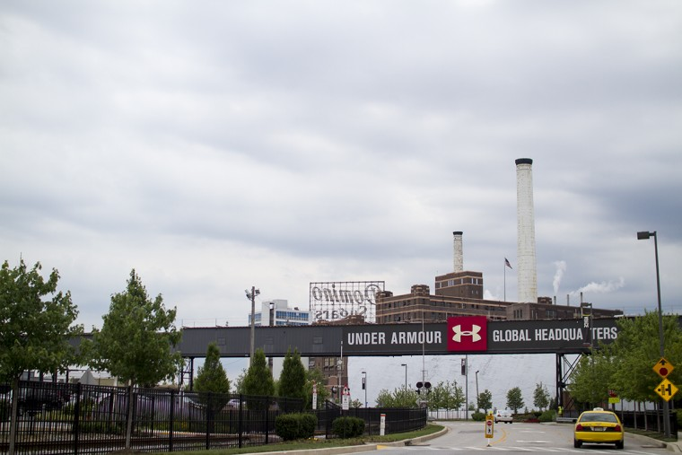 The Under Armour headquarters in Locust Point. (Kalani Gordon, Baltimore Sun, June 2015)