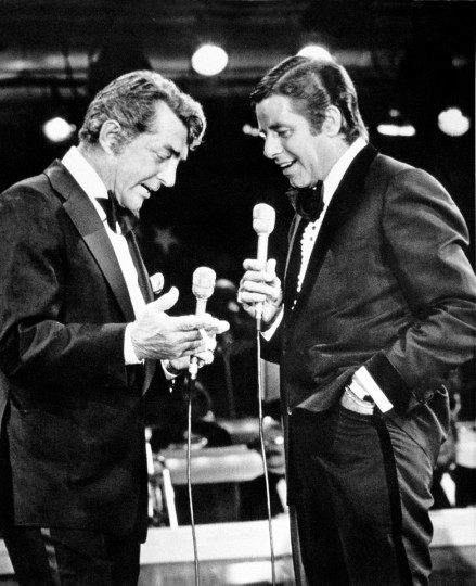 July 25, 1946: The famed duo of Dean Martin and Jerry Lewis performed for the first time on July 25, 1946 at Club 500 in Atlantic City, N.J. (AP Photo, file)