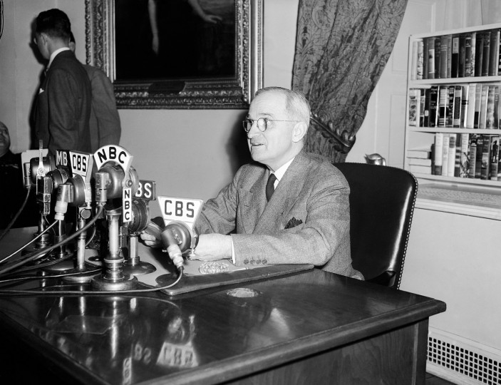 July 26, 1948: On this date, President Harry S. Truman signs Executive Order 9981, which desegregated the U.S. military. (AP Photo/File)