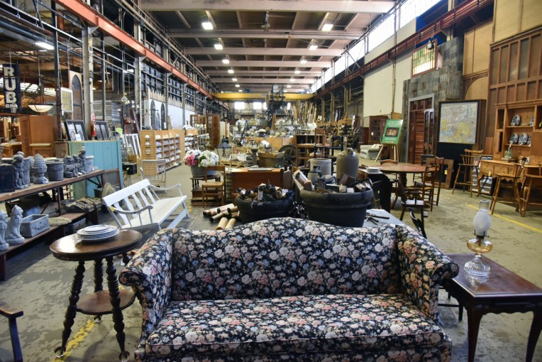 All kind of goods and materials can be found in the ware house of Second Chance, Inc., a nonprofit corporation that sells reclaimed building materials that funds job training and employment of Baltimore City residents. (Kim Hairston/Baltimore Sun)