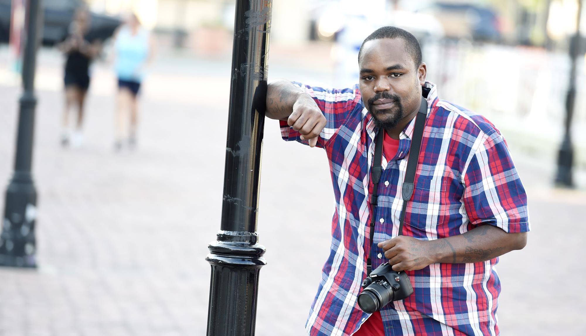 Wayne Johnson, Baltimore Street Photographer