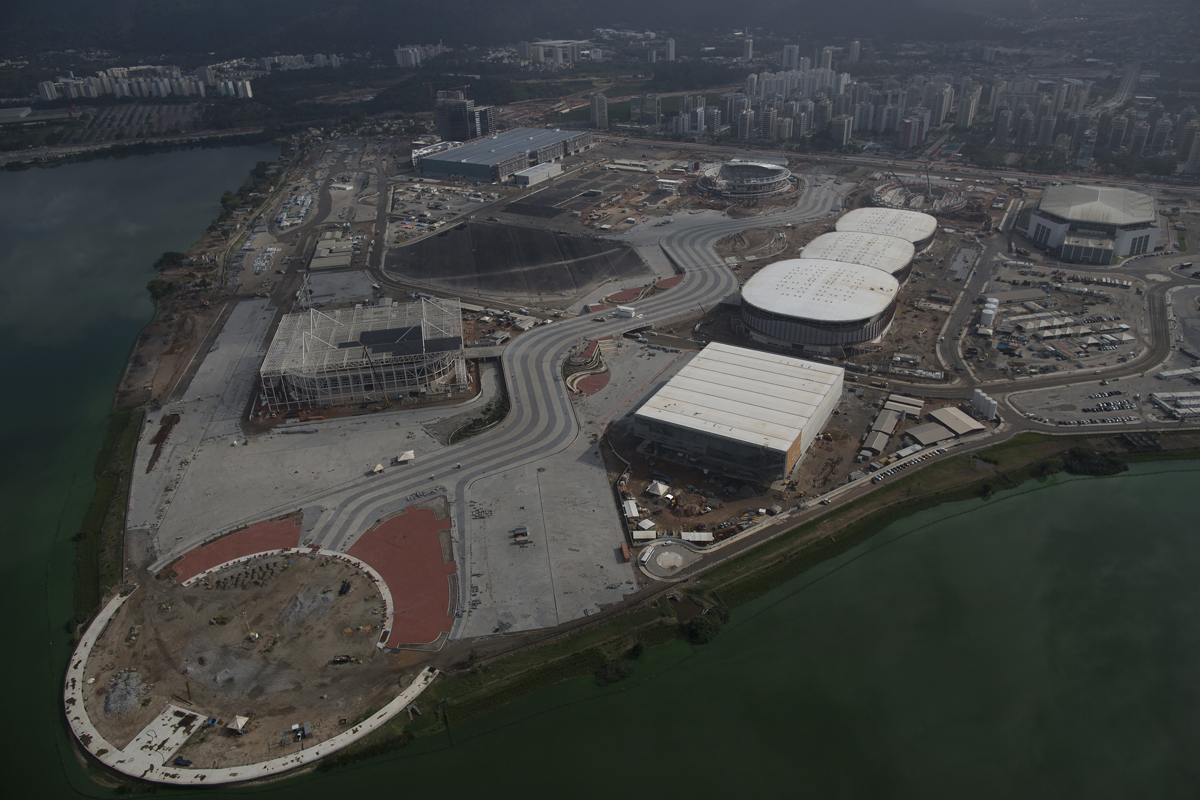 The Rio Olympics are 1 year away