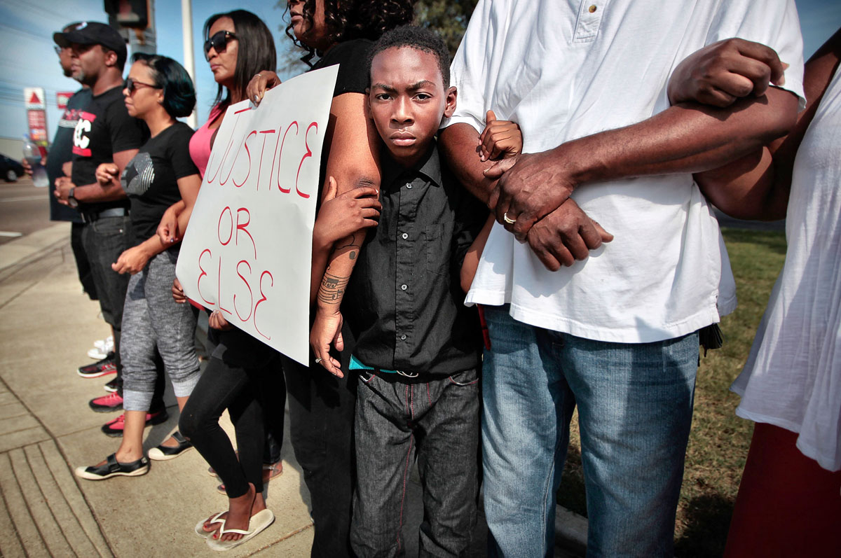 Nationwide remembrances of Ferguson, one year later