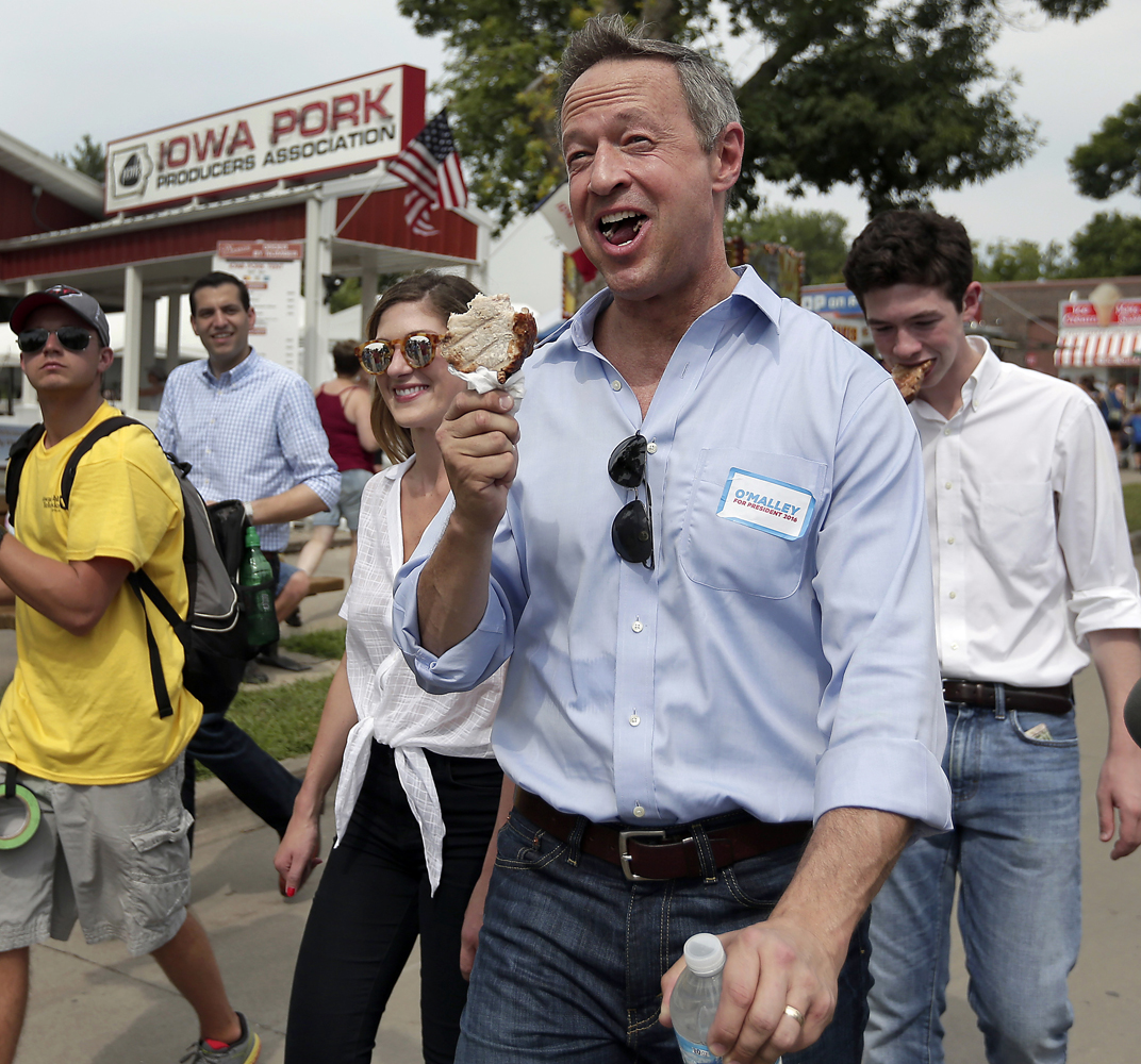 Martin O'Malley goes to the Iowa State Fair