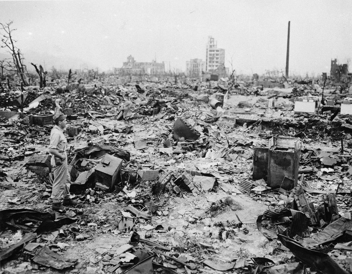 now and then hiroshima after the atomic bomb and today