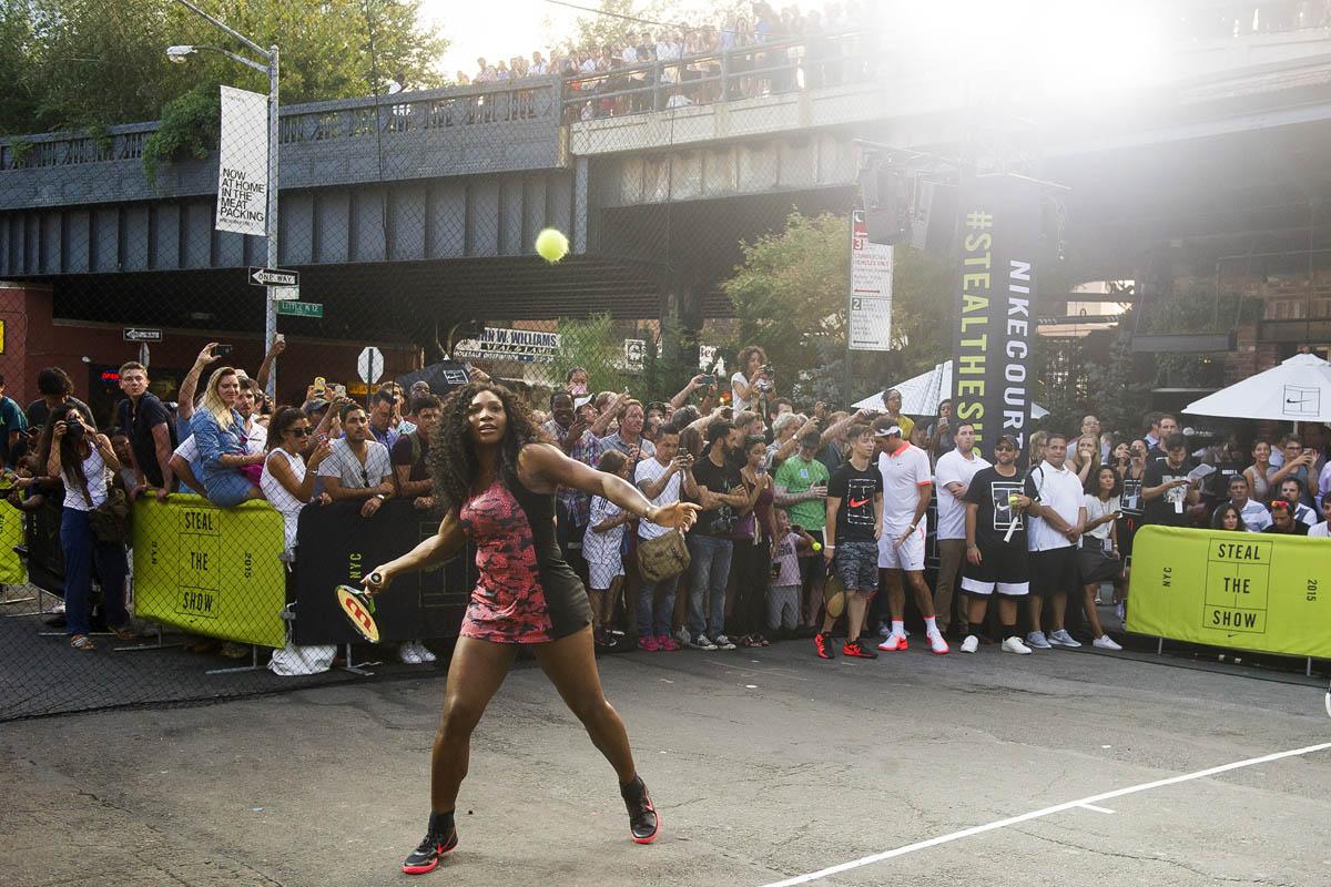 nike tennis nyc street