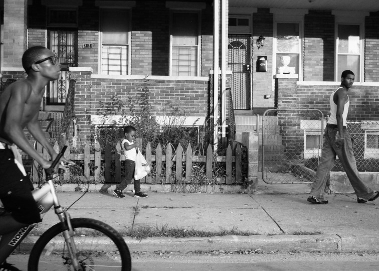Biker, kid and man 7-23-12