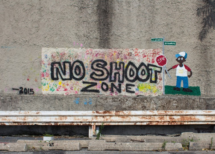 No shoot zone