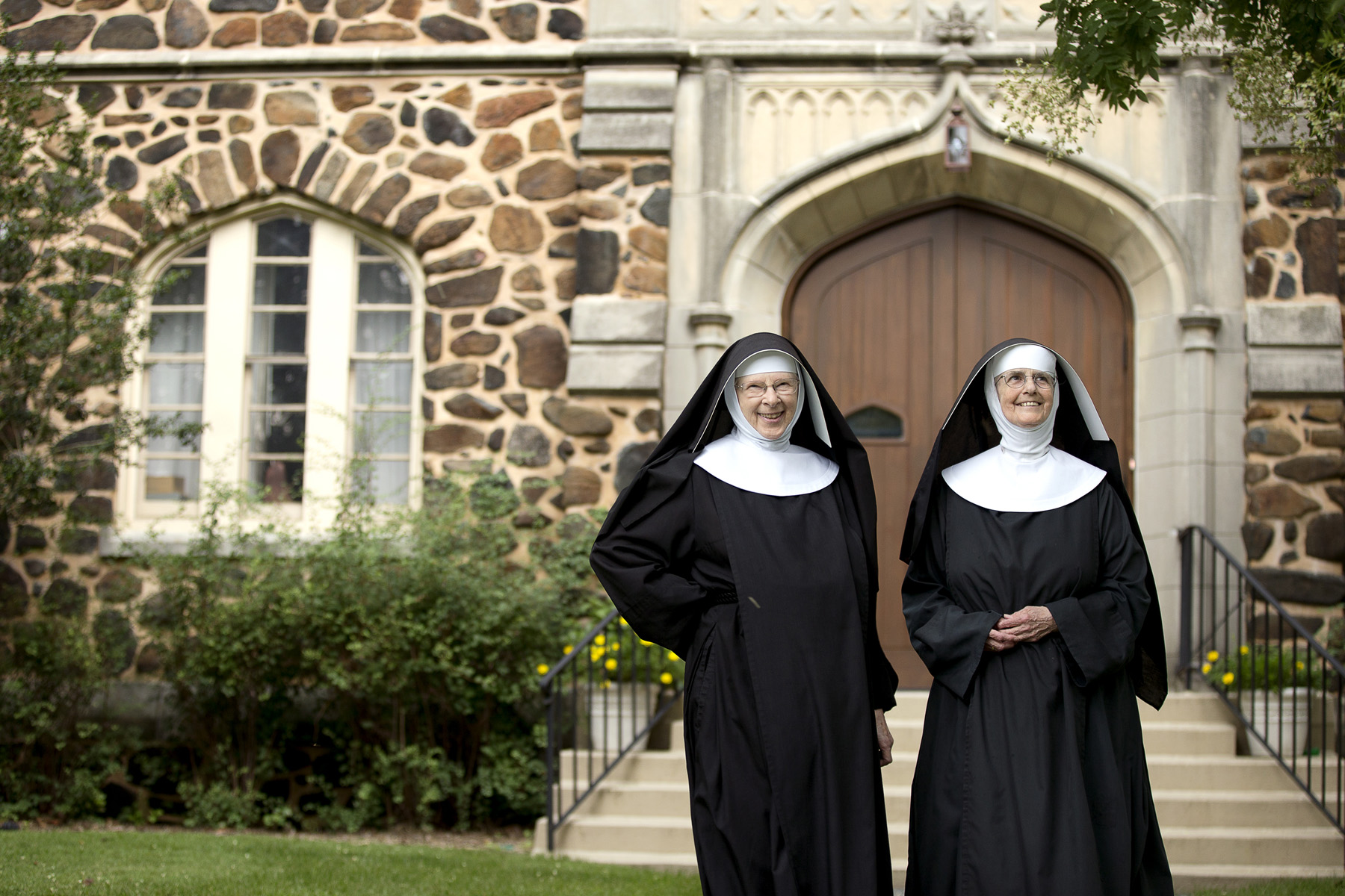 Images of a convent blowjob scene 6