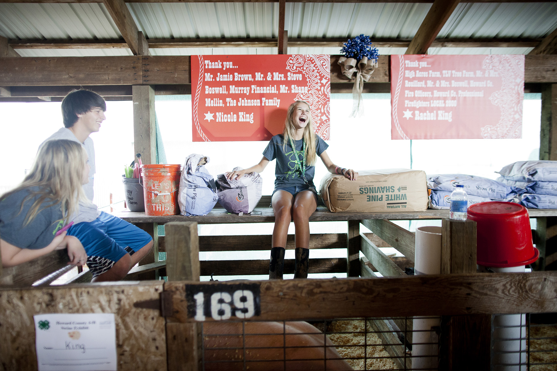 A day in the life of a 4-H family at the Howard County Fair