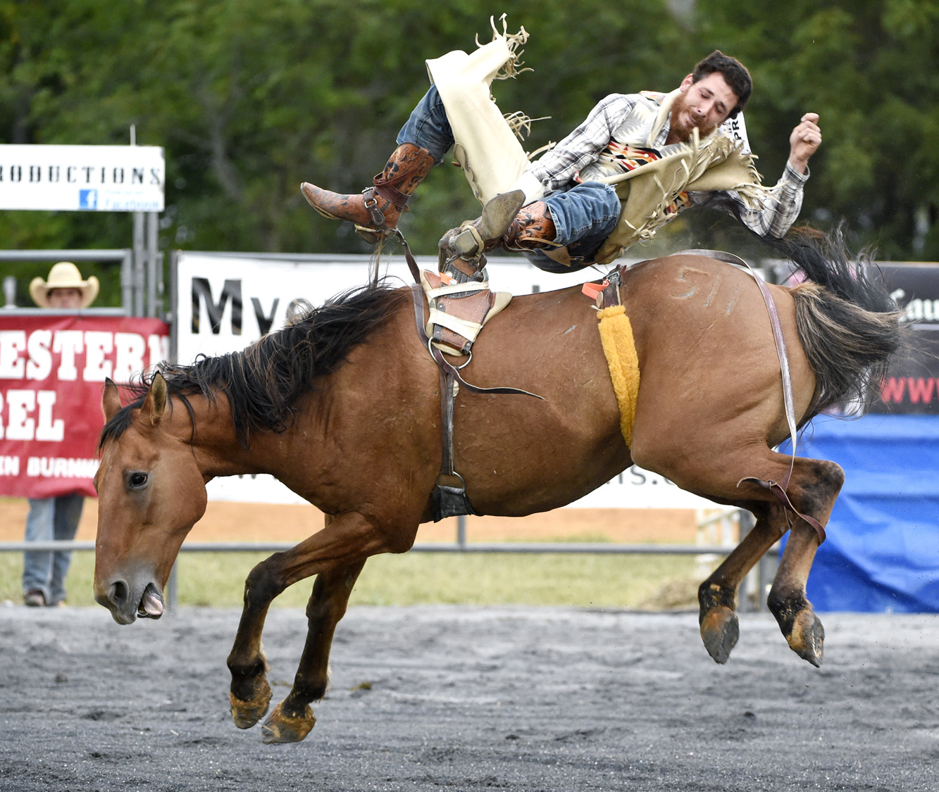 The Howard County Fair's All-American Pro Rodeo