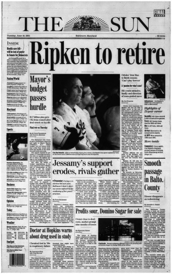 Ripken to retire