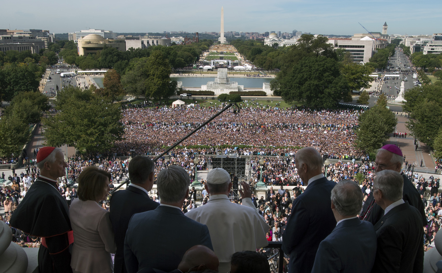 Pope Francis goes to Washington