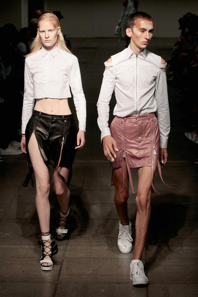 Hood By Air Runway Spring 2016 New York Fashion Week