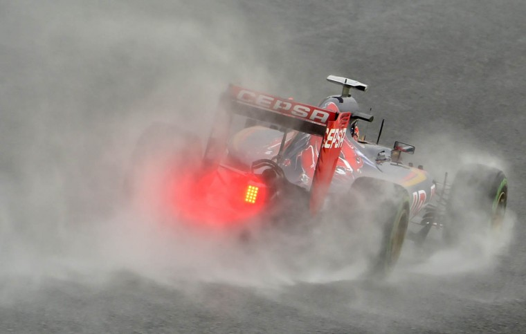 Toro Rosso driver Max Verstappen of Netherland drives his car during the first practice session of the Formula One Japanese Grand Prix at the Suzuka circuit on September 25, 2015. (Kazuhiro Nogi/Getty Images)