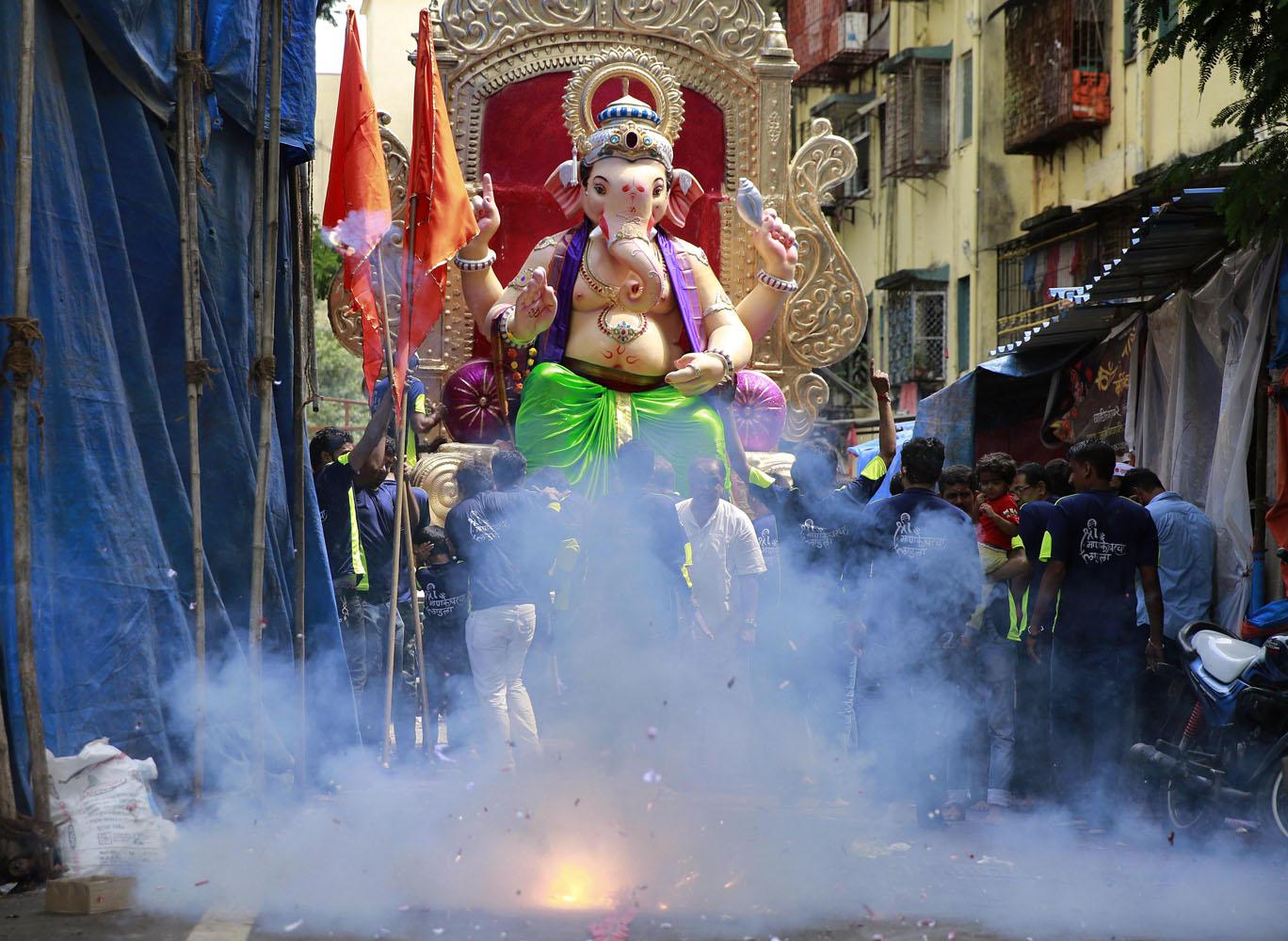 India's Ganesh Chaturthi festival