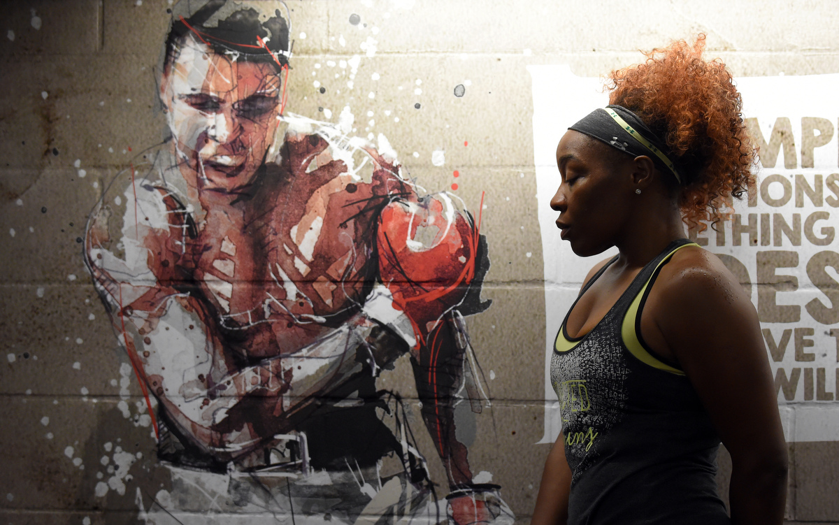 Baltimore boxer Franchon Crews pursues her Olympic dream