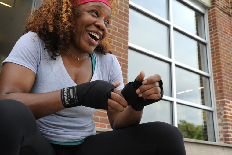 Baltimore boxer Franchon Crews, who was an alternate for the 2012 Olympics, hopes to make the U.S. boxing team for 2016. (Lloyd Fox/Baltimore Sun)