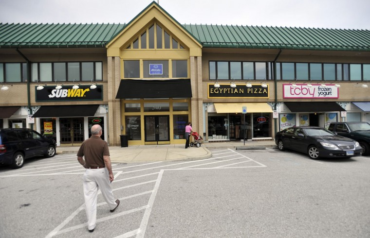 April 2011 - Subway and TCBY are two national chain stores that have moved into Belvedere square. (Kim Hairston/The Baltimore Sun)