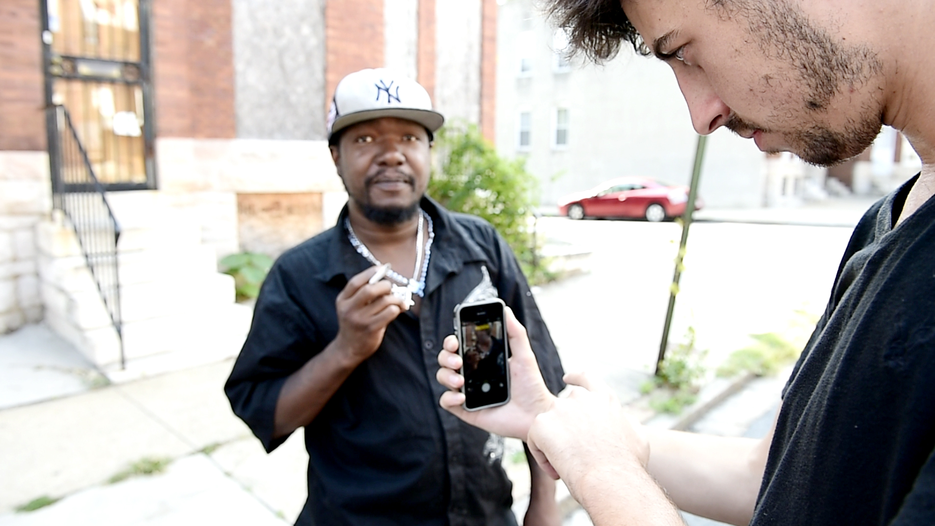 Noah Scialom, Baltimore Street Photographer
