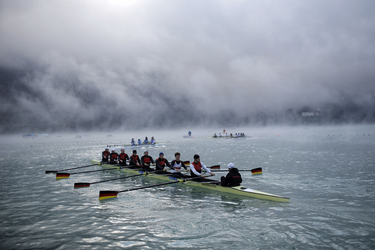 World rowing championships in France