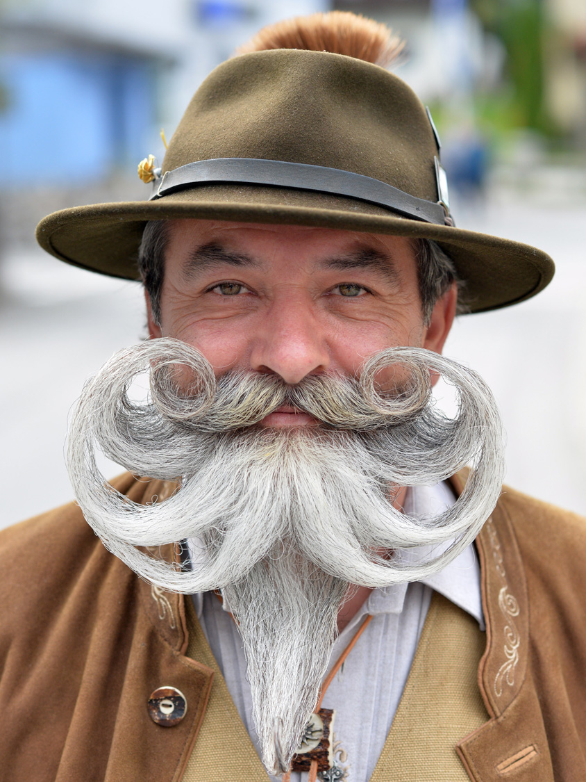 World Beard and Moustache Championships in Austria
