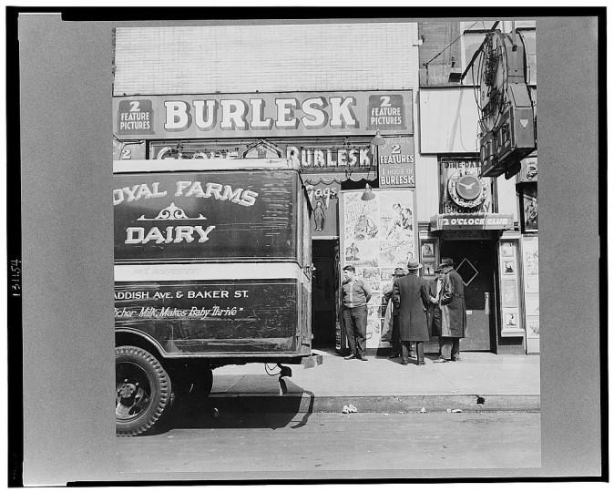 """Light street."" Marjory Collins, April 1943"