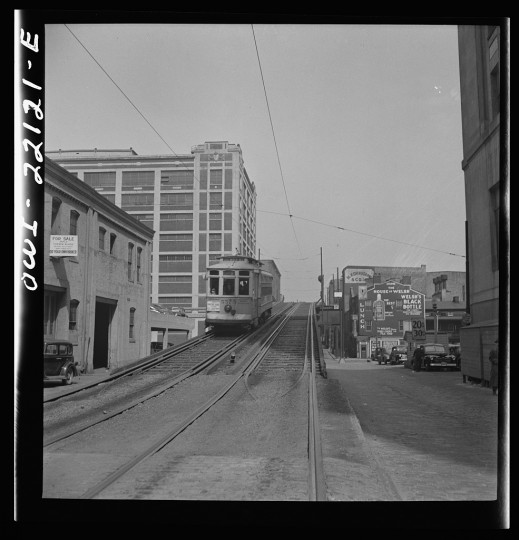 """Elevated trolley"""