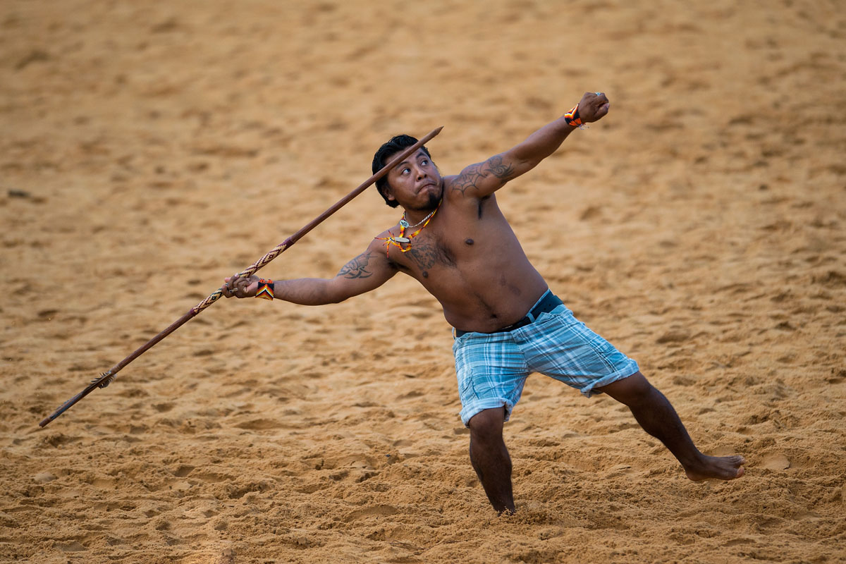World Indigenous Games in Palmas, Brazil