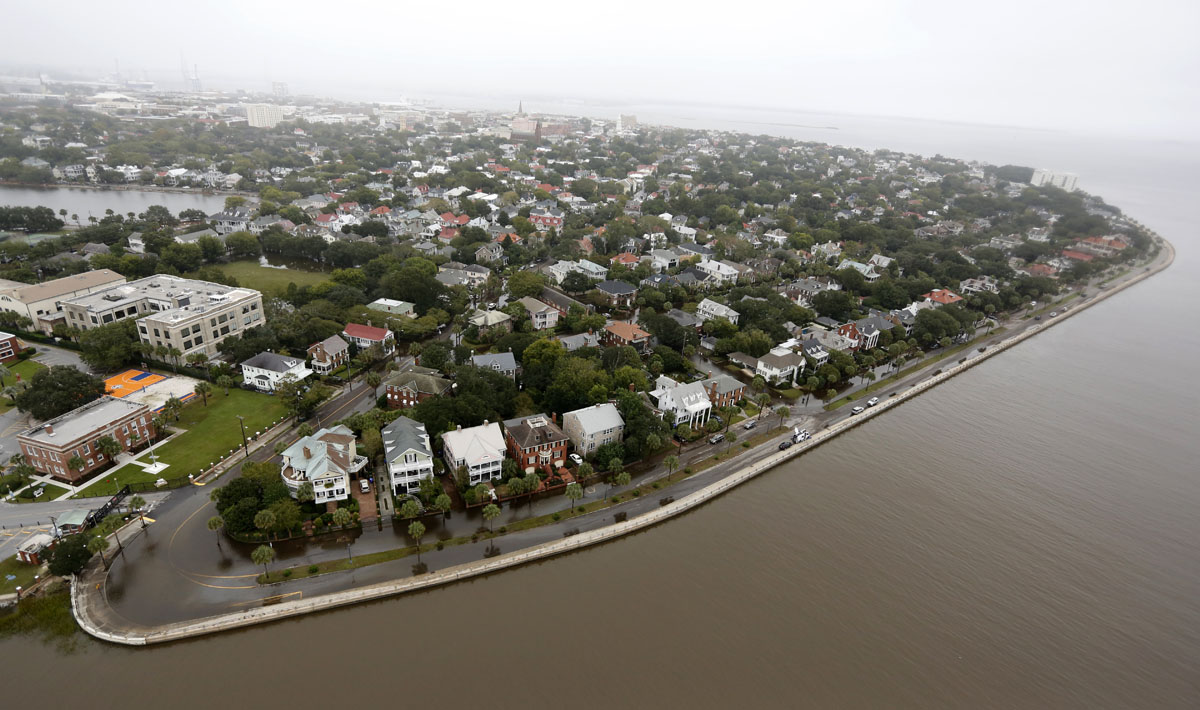 Aerial View Of Sullivan S Island