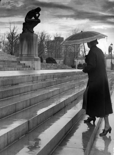 1936 - Baltimore Museum of Art. (A. Aubrey Bodine/Baltimore Sun)