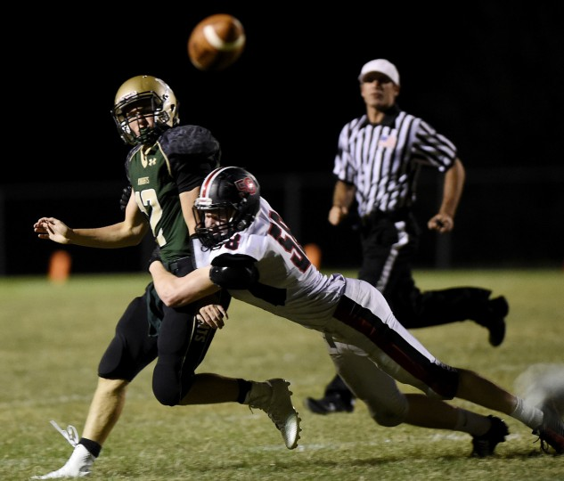 Century takes on North Caroll Friday, Sept. 25 at Century High School. (Dave Munch/Carroll County Times)