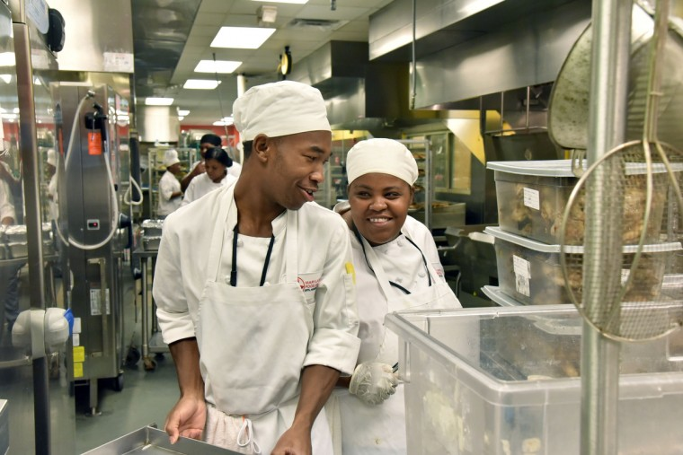 Foodworks Program At The Maryland Food Bank