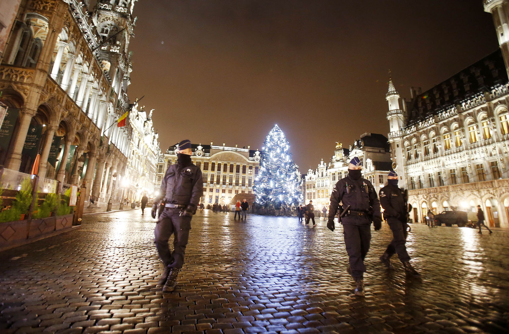 Brussels enters third day of lockdown