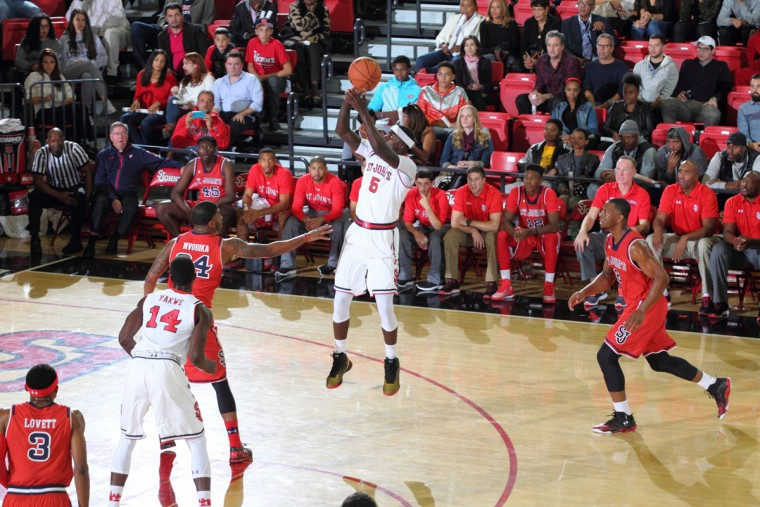Name: Durand Johnson College: St. John's Position: Guard/Forward Year: Fifth-year senior High school: Lake Clifton Hometown: Baltimore 2013-14 stats: 8.8 points, 3.0 rebounds, 19.8 minutes at Pittsburgh It's been almost two years since Johnson played in a game, but the Pittsburgh transfer could very well be St. John's leading scorer this season. Johnson showed plenty of promise as a redshirt sophomore before suffering a season-ending ACL injury. He was then suspended for the entire 2014-15 campaign. But first-year Johnnies coach Chris Mullin beat out several other high-major schools for Johnson's services, and he'll count on the Lake Clifton grad to lead a young SJU squad. Photo courtesy of the St. John's athletic department