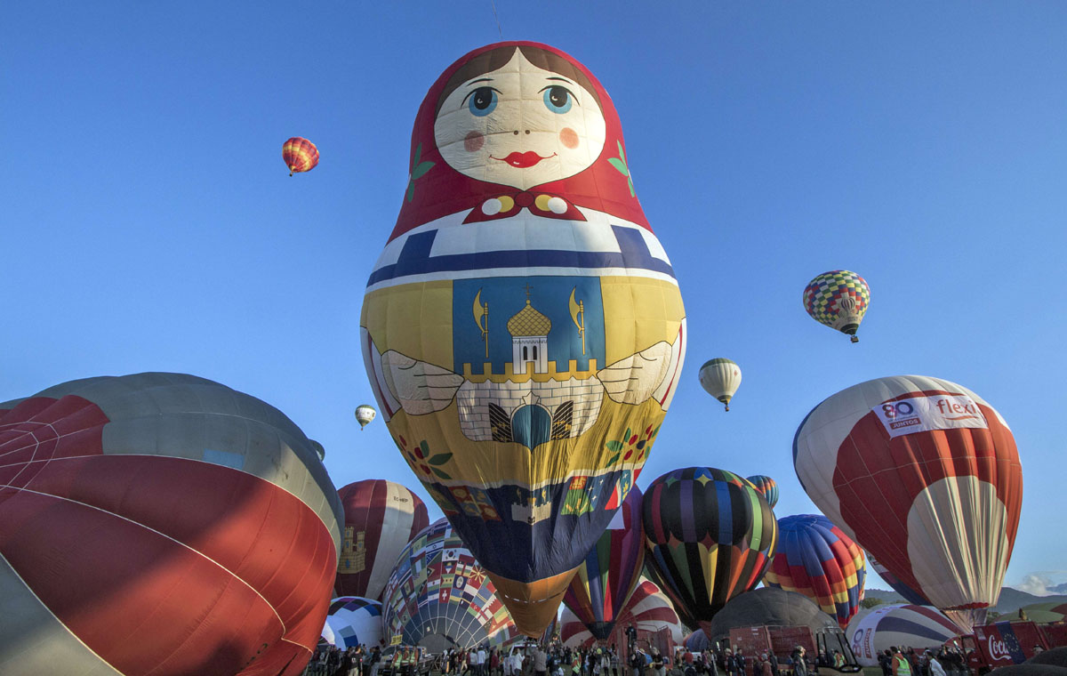 Taking flight at the International Balloon Festival