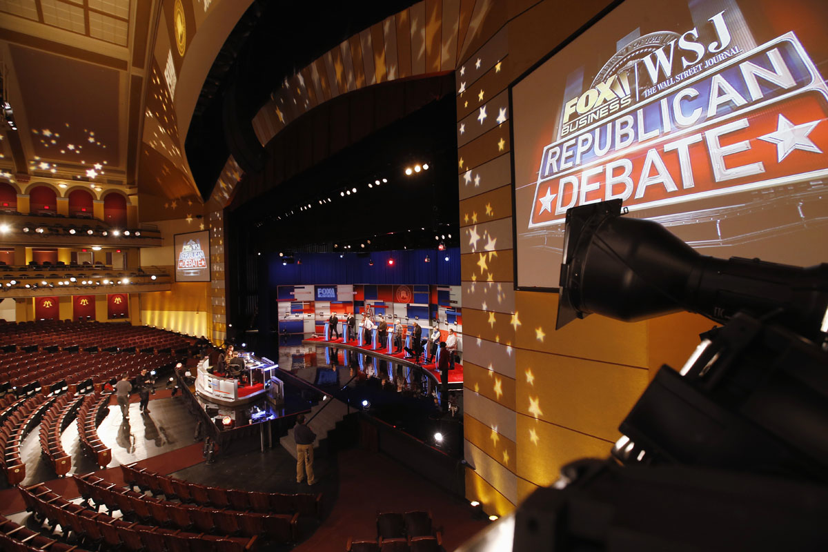 Setting up Fox's GOP debate at the Milwaukee Theater