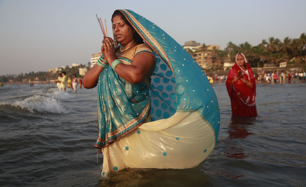 Chhath Puja festival in India