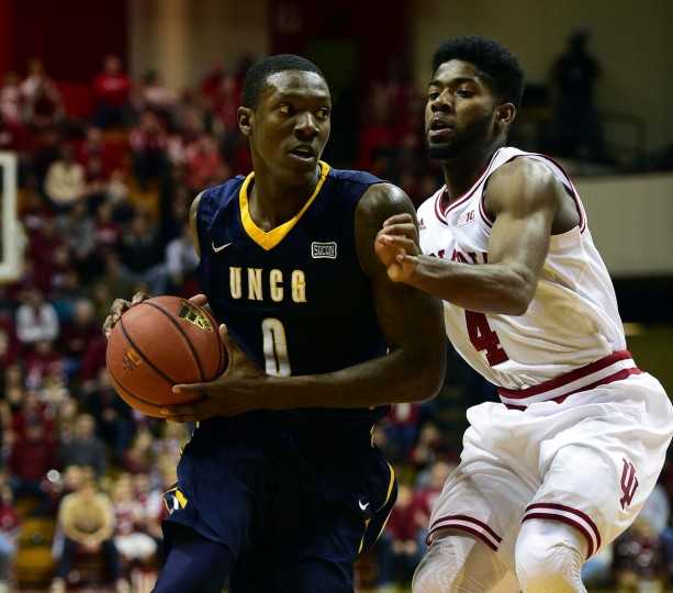 Name: Tevon Saddler College: UNC Greensboro Position: Guard Year: Junior High school: St. Frances Hometown: Aberdeen 2014-15 stats: 13.4 points, 4.6 rebounds, 4.0 assists, 1.5 steals, 42.9% FG, 30.5 minutes Saddler flirted with transferring after his freshman year but ended up returning to the Spartans and thriving as their leading scorer. The former St. Frances star reached double figures in scoring in 22 out of 31 games last season. He was a third-team All-Southern Conference selection as a sophomore and enters his junior year as a preseason first-team pick. Marc Lebryk, USA TODAY Sports photo